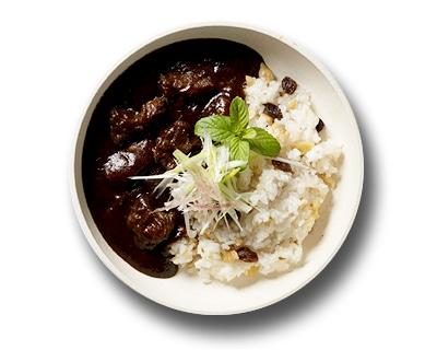 大分県産 鹿肉の欧風カレー