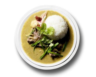 長崎県島原半島産 猪肉のグリーンカレー