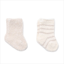 BDBCC1306 COZYCHIC 2 PAIR INFANT SOCK SET