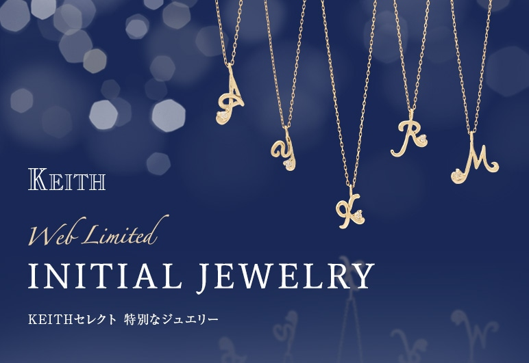 KEITH Web Limited INITIAL JEWELRY