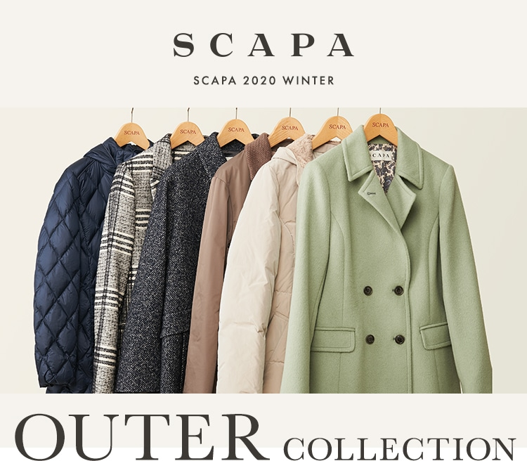 SCAPA 2020 WINTER OUTER COLLECTION