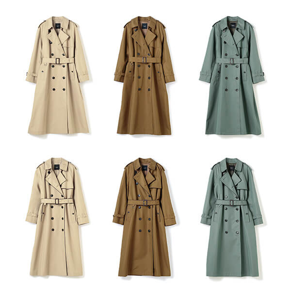 写真:N.O.R.C by the line TRENCH COAT