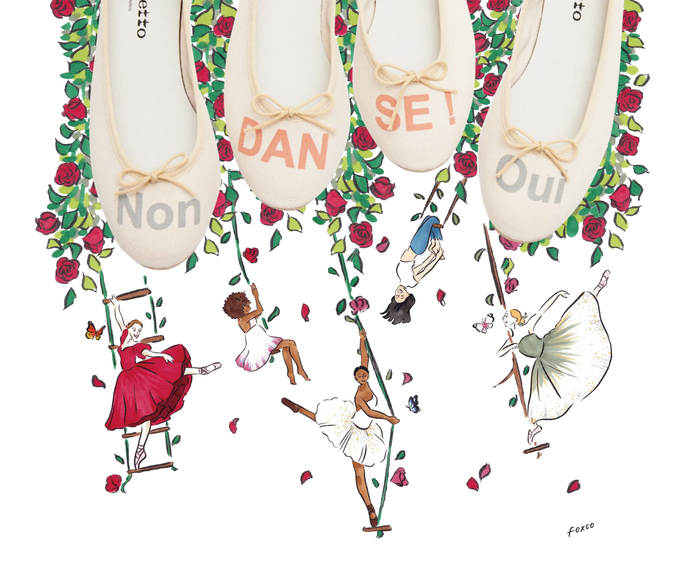 Repetto Illustration Campaign
